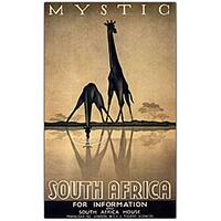 Gayle Ullman 'Mystic South Africa' Canvas Art