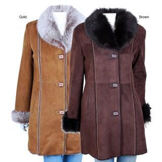 Spanish Merino Women's Shearling Coat