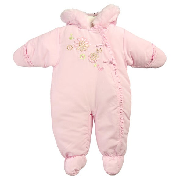 b2a78dd5a15d Shop La Petite Rothschild Infant Girl s Snowsuit - Free Shipping On ...