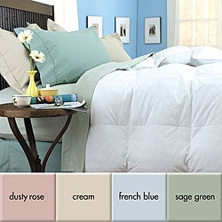 Wrinkle-resistant 300 Thread Count Reversible Down Comforter