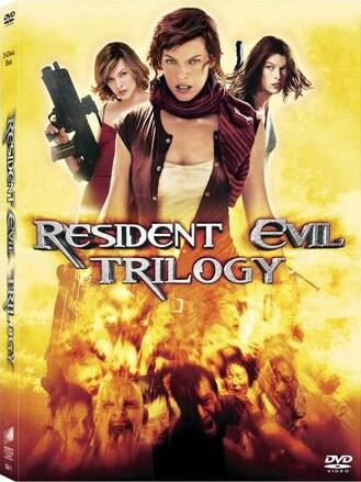 Resident Evil Trilogy 4-Disc Set (DVD)