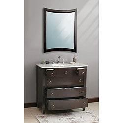Vinson 36-inch Single Sink Bathroom Vanity - Thumbnail 1