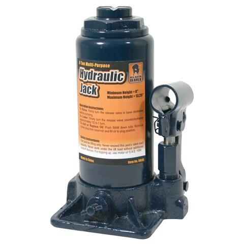 Black Bull Hydraulic 8-ton Bottle Jack