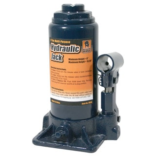 Black Bull Hydraulic 8-ton Bottle Jack