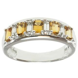 Michael Valitutti 14k Gold Tourmaline/ Diamond Ring (G-H, VS)
