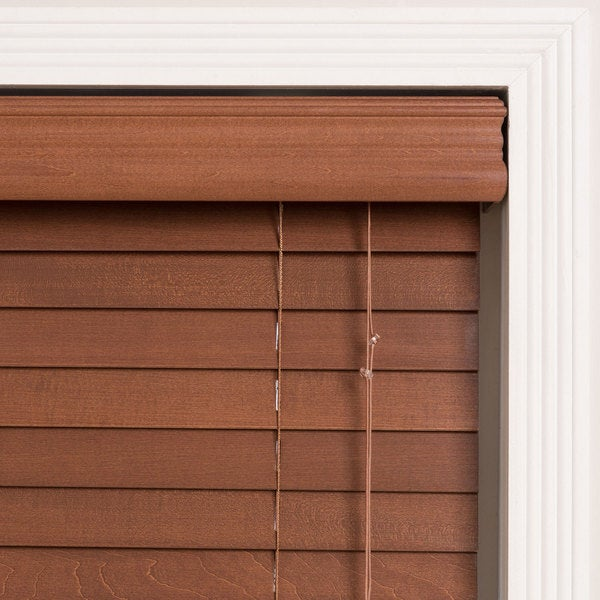 Arlo Blinds Customized 28inch Real Wood Window Blinds Free
