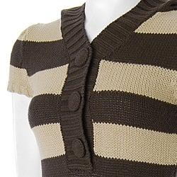 Derek Heart Juniors Short-sleeve Hooded Tunic