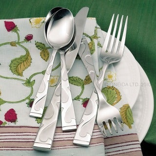 Oneida Tuscany Stainless Steel 45-piece Flatware Set