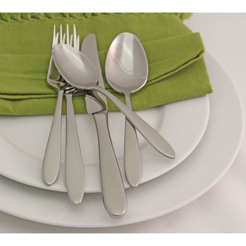 Oneida Mooncrest Stainless Steel 45-piece Flatware Set (Service for 8)