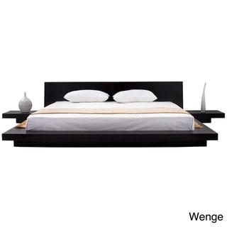 Fujian 3-piece Queen-size Platform Bedroom Set