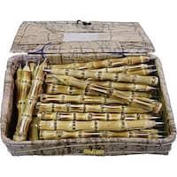 Handmade Set of 48 Box of Bamboo Pens (Viet Nam)