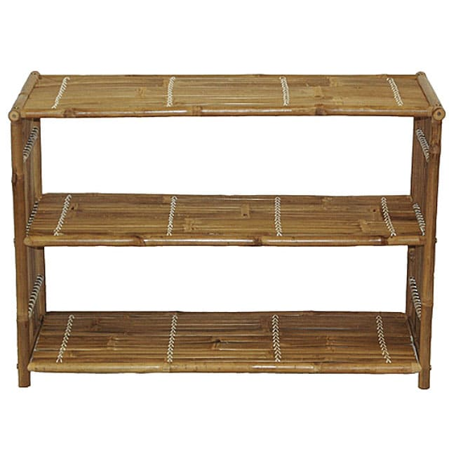 Handmade Bamboo Media Shelf (Vietnam)