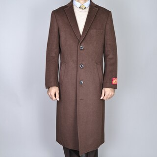 Men's Wool and Cashmere Winter Top Coat (2 options available)