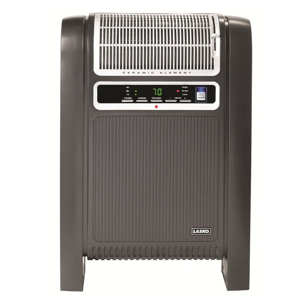 Shop Lasko 760000 Cyclonic Ceramic Heater With Remote Control And