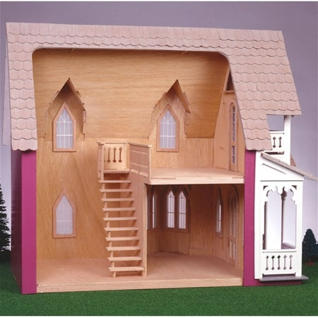 Vineyard Cottage Dollhouse Kit - Thumbnail 1