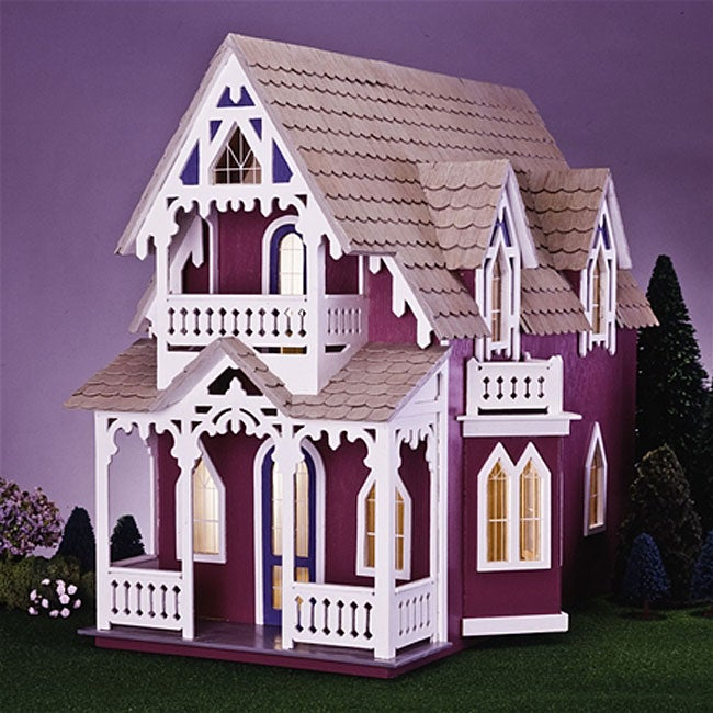 Vineyard Cottage Dollhouse Kit