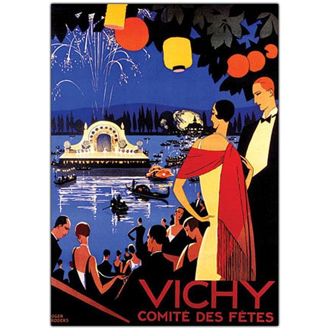 Roger Broders 'Vichy Comite des Fetes' Framed Art