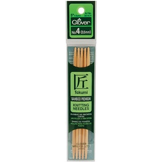 Dual-point Bamboo Knitting Needles (Pack of 5)