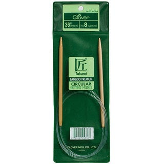 Clover Bamboo 36-inch Circular Knitting Needles