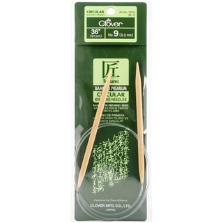 Bamboo 36-inch Circular Knitting Needles