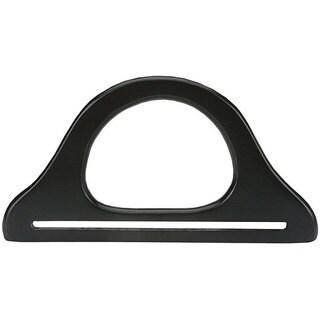 Black 9.75-inch Wooden Purse Handle