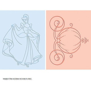 Cuttlebug Happily Ever After A2 Embossing Duo Set
