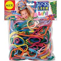 Alex Toys Loop 'n Loom Multi-colored Refill Pack