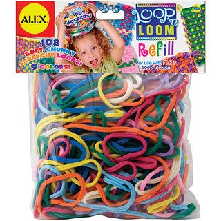 Alex Toys Loop 'n Loom Multi-colored Refill Pack