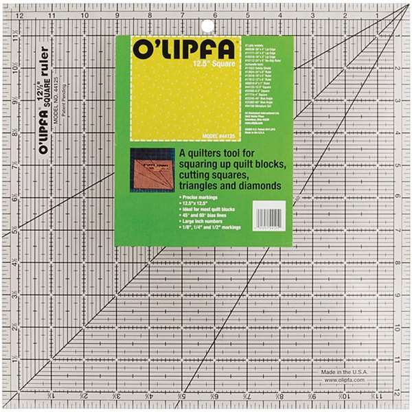 O'Lipfa Square Quilting Ruler