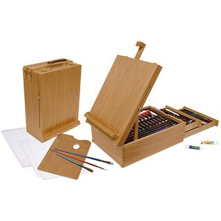 All Media Easel 92-piece Artist Set