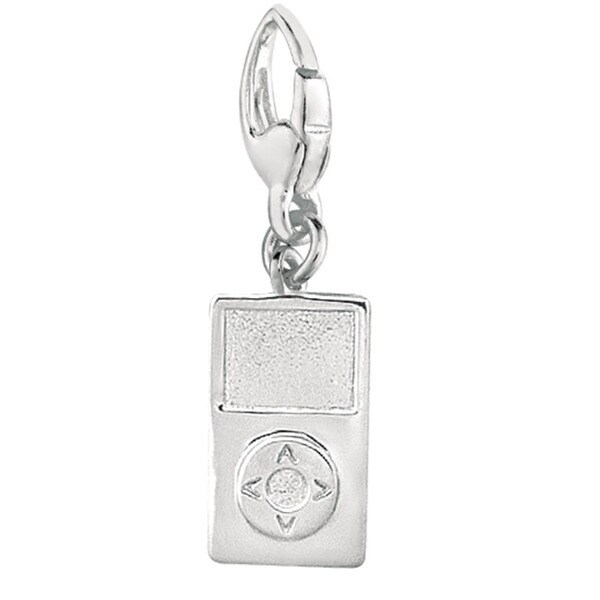 Sterling Silver MP3 Player Charm