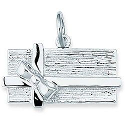Sterling Silver Chocolate Candy Box Charm