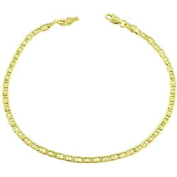 14k Yellow Gold 8.5-inch Mariner Bracelet