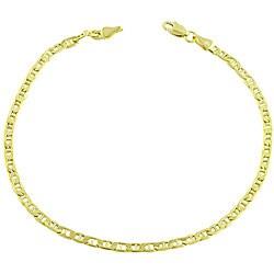 14k Yellow Gold 8.5-inch Mariner Bracelet