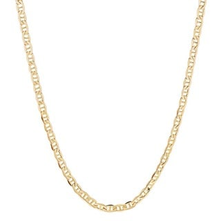 Fremada 14k Yellow Gold 3.15mm Mariner Chain (18-24 inch)