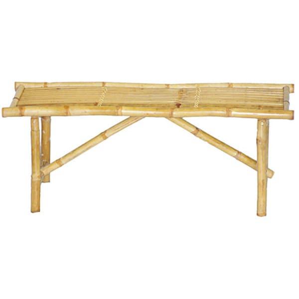 Handmade Bamboo Folding Bench (Vietnam)