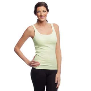 Yogacara Women's Ribbed Cotton Tank Top|https://ak1.ostkcdn.com/images/products/3465275/P11535377.jpg?impolicy=medium