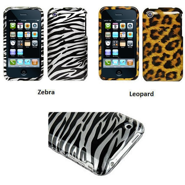 Apple iPhone 3G Animal Design Crystal Case