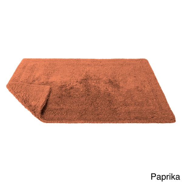 Cotton Reversible Bath Rug (24 X 34)   Free Shipping On Orders Over $45    Overstock.com   11537919