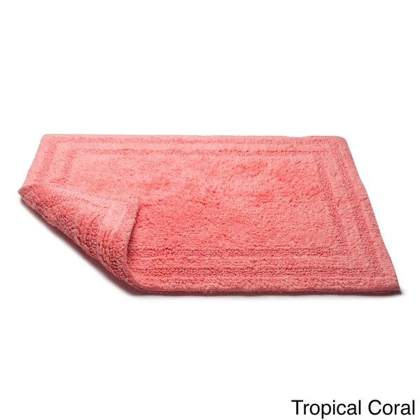 Cotton Reversible 30 X 50 Bath Rug   Free Shipping On Orders Over $45    Overstock.com   11537981