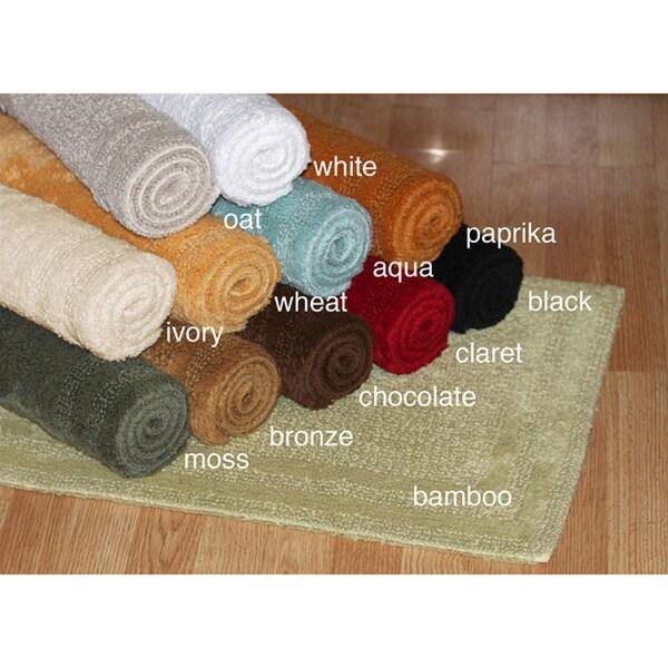 Company Cotton Chunky Bath Rug. Cotton Reversible 30 X 50 Bath Rug