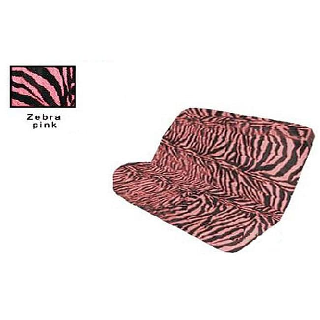 La Auto Gear Zebra Print Bench Seat Cover Free Shipping On Orders Over 45 3469016