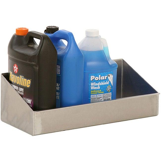 Shop Aluminum 4 Gallon Oil Storage Shelf Free Shipping