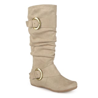 Journee Collection Women's 'Jester-01' Slouch Buckle Boot (More options available)