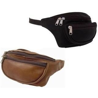 Piel Top Grain Leather Classic Waist Bag