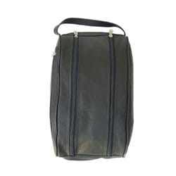 Piel Top Grain Leather Shoe Travel Bag