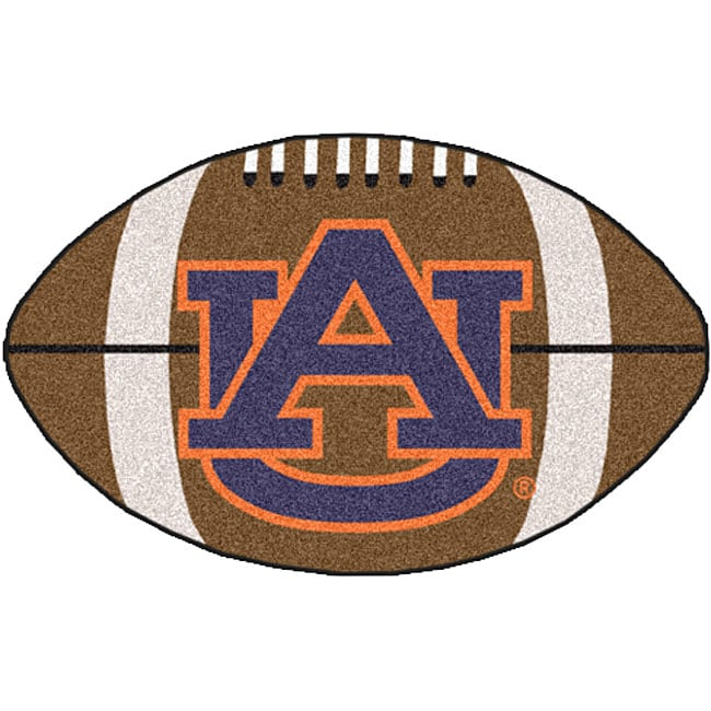 Auburn University Football Mat (22 x 35)