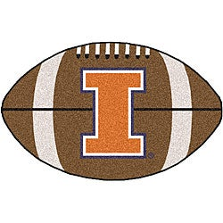 Fanmats NCAA University of Illinois Football Mat (22 x 35)