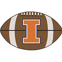 Fanmats NCAA University of Illinois Football Mat (22 x 35)|https://ak1.ostkcdn.com/images/products/3470754/University-of-Illinois-Football-Mat-22-x-35-P11542288.jpg?impolicy=medium