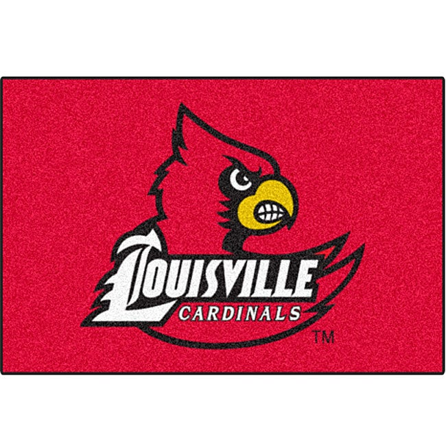 Fanmats NCAA University of Louisville Starter Mat